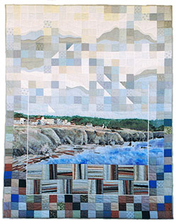 Bright Winter Day in Mendocino quilt