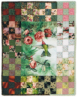Two Hummingbirds quilt